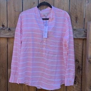SOUTHERN TIDE half button down blouse NWT